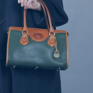 DOONEY & BOURKE Green All Weather Leather  Bag